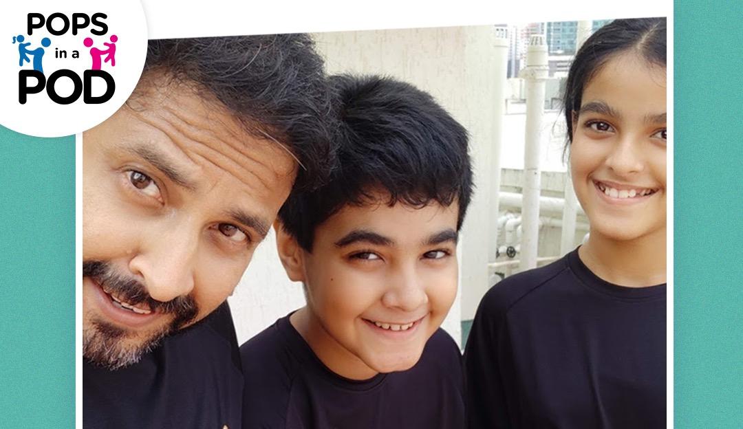 Sanjay Chakrabarti Tag8 Nadir Kanthawala Peter Kotikalapudi Pops In a Pod Parenting parents dad dads